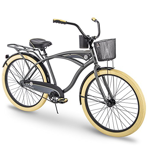 Huffy 26' Holbrook Men's Perfect Fit Frame Cruiser Bike