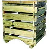 Bosmere K771 Country Wood Compost Bin, 9 Cubic Feet