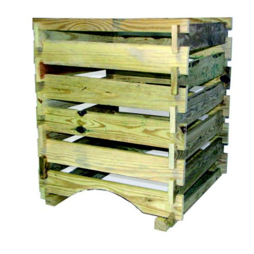 Bosmere K771 Country Wood Compost Bin, 9 Cubic (Wooden Compost Bin)