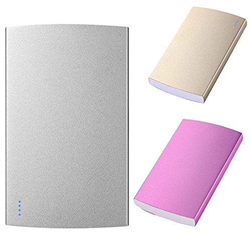 Price comparison product image HITRAS Portable 20000mAh External Power Bank Backup LED Dual USB Battery Charger (GD)