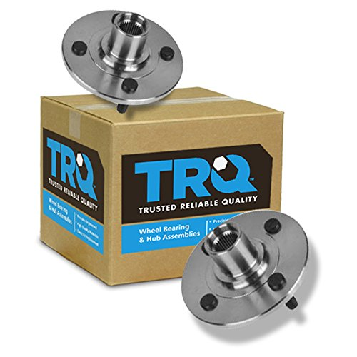 TRQ Front Wheel Hubs & Bearing Left & Right Pair for Saturn S Series SC SL SW