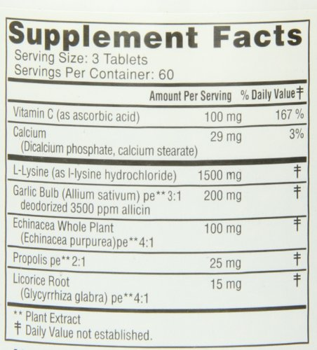 046985001113 - Super Lysine+ 180T ( Multi-Pack) carousel main 1