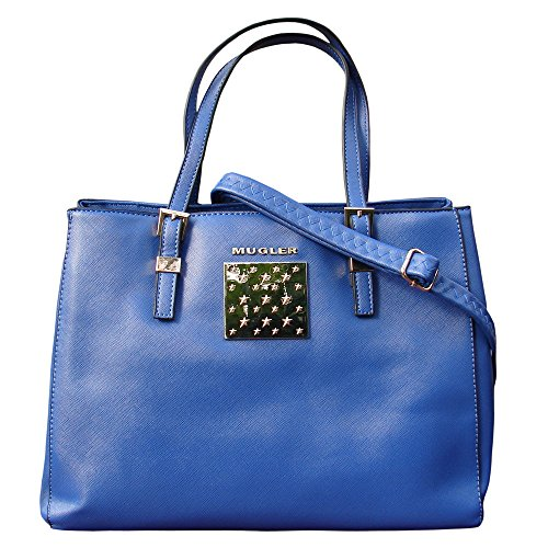 Thierry Mugler, Borsa a tracolla donna Blu blu U