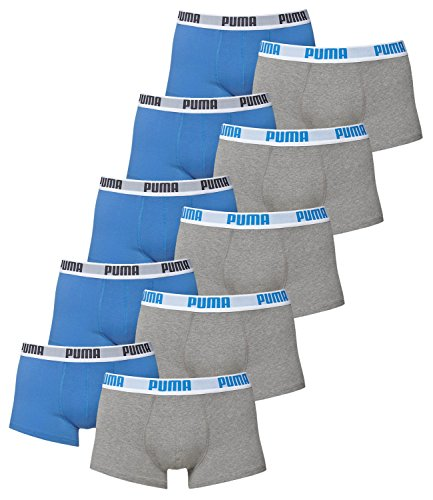 Blu Puma Lotto Underpants Basic 417 grigio Intimo Men Boxershorts 10 487Tq1