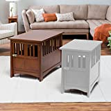 Boomer & George Everett Mission Pet Crate End Table