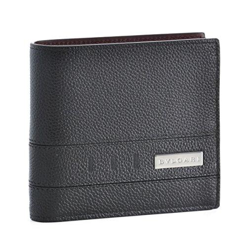 BVLGARI(ブルガリ) 財布 メンズ BVLGARI BVCKLE 2つ折り財布 ブラック 282824-0003-0003 [並行輸入品] B07B8Q5ZW4