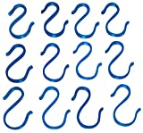 12 BLUE Indiana PUNCH BOWL CUP S HOOKS HANGERS