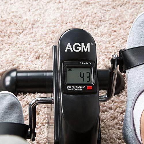Mini Exercise Bike Agm Digital Under Desk Bike Pedal