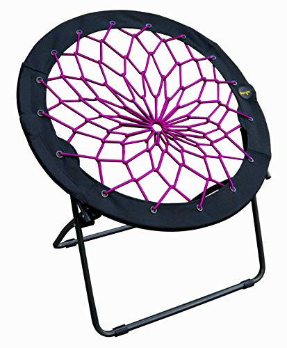 Zenithen Limited Bungee Folding Dish Chairs (Pack of 1, Plum) (Catcher Chair Dream)