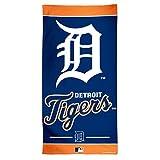 """MLB Detroit Tigers Fiber Beach Towel, 30 x 60"""", Multicolor"""
