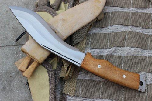 EGKH. Genuine Gurkha Aeof Kukri - 8'' Hand Forged Blade Authentic British Gurkha Mini Afghan Khukuri - Handmade By Ex Gurkha Khukuri House in Nepal