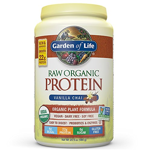 Garden Of Life Protein Powder Organic Raw Protein Shake With Vitamins And Probiotics Sugar