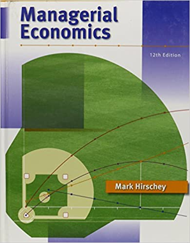 Managerial economics book only mark hirschey 9780324588866 managerial economics book only mark hirschey 9780324588866 amazon books fandeluxe Choice Image