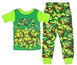 5t ninja turtle pajamas - Teenage Mutant Ninja Turtles Little Boys Cotton Pajama Set (3T)