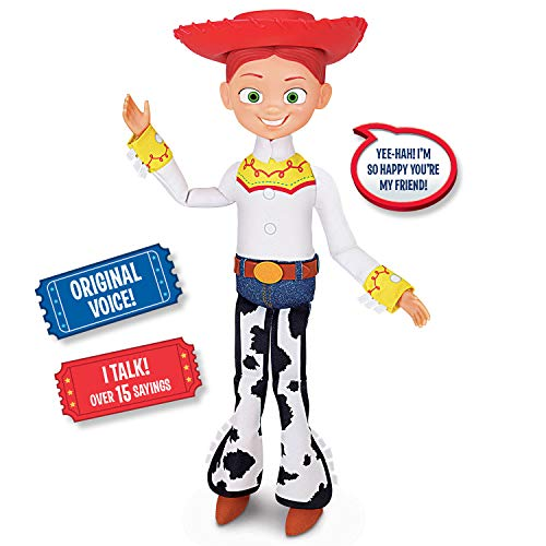 Toy Story Disney Pixar 4 Jessie Cowgirl Action -
