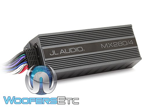 70w Compact - JL Audio MX280/4 4-Channel 70W RMS x 4 Compact Marine Amplifier