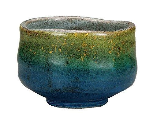 KUTANI Ware Matcha Bowl KINSAI-Gold glaze by Watou.asia (Image #1)