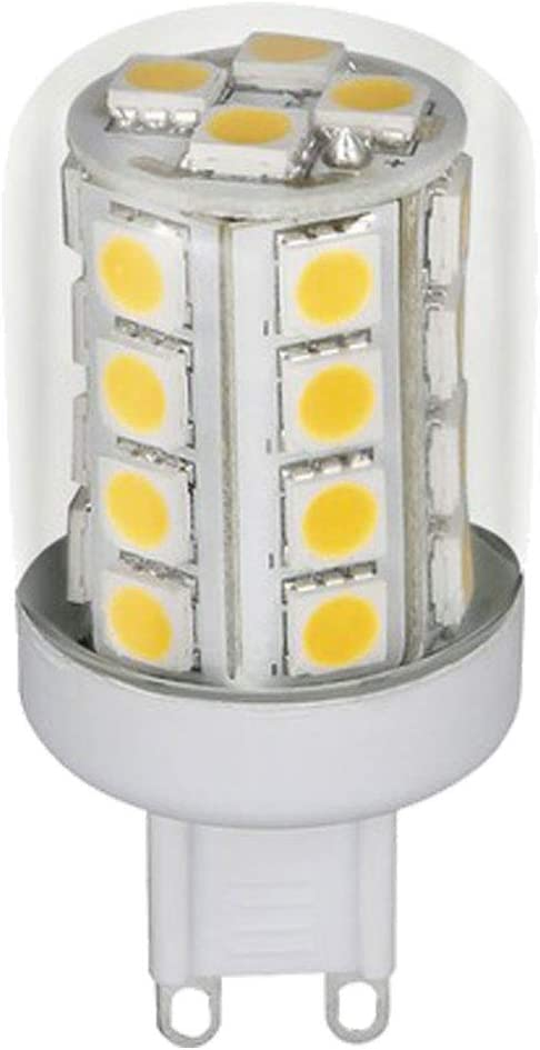 LED 3 watt bulb G9, 280 lumens, warm white | ETC Shop