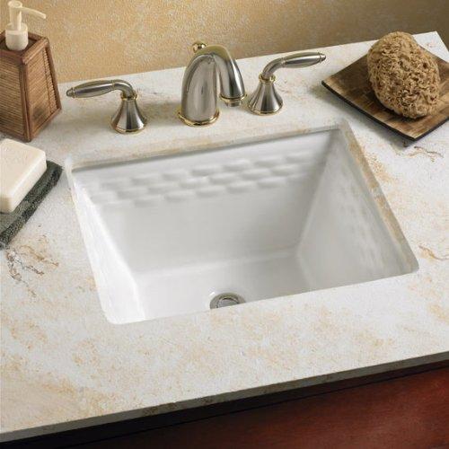 033056680322 - American Standard 0615.000.020 Rattan Vitreous China Undercounter Sink, White carousel main 1