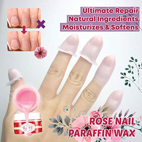 - Nail Paraffin Wax Hand Skin Care Mask Moisturizing Organic Rose Skin Care Gel Hydrating Exfoliating Nourish Whitening Skin