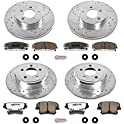 Power Stop K1715-26 1-Click Z26 Brake Kit