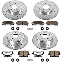 Power Stop K1715-26 1-Click Street Warrior Z26 Brake Kit