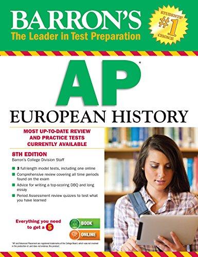 Barron's AP European History (8th 2016) [Barron's College Division Staff]