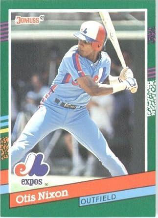 Amazoncom 1991 Donruss Baseball Card 626 Otis Nixon