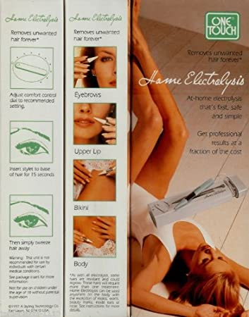 Amazon com : One Touch Home Electrolysis Kit  : Tweezers : Beauty