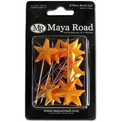 Maya Road Super Star Pins, Gold
