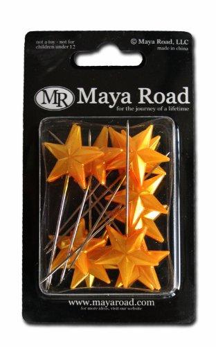 Maya Road Trinket Pins - Maya Road Super Star Pins, Gold