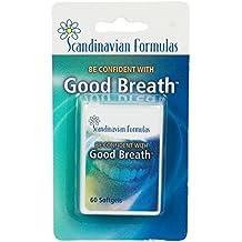 Scandinavian Formulas Good Breath -- 60 Softgels