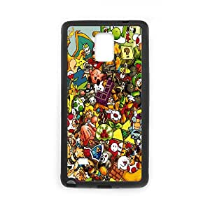 Printed Quotes Phone Case Super Mario Bros For Samsung Galaxy Note 3 N7200 Q5A2112599