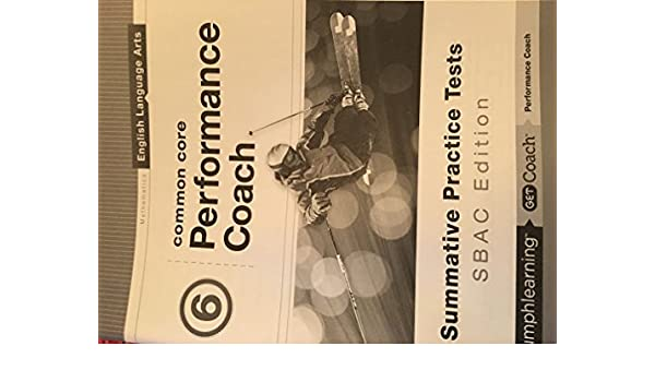 English language arts common core performance coach 6th grade english language arts common core performance coach 6th grade triumph learning 9781623628741 amazon books fandeluxe Image collections