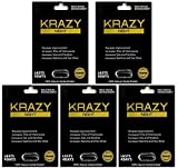 Krazy Night Black Best Male Enhancing Natural Performance 5 Pill The New Most Effective Natural Amplifier for Performance, Energy, and Endurance (5 Pills)