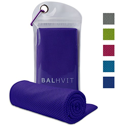 Balhvit Cooling Towel, Cool Towel for Instant Cooling Relief, Chilling Neck Wrap,...
