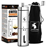 Best Manual Coffee Grinders - Manual Coffee Grinder by Mainland (Hand Held) Adjustable Review