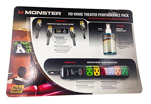 Monster Hd Performance Kit - Monster Cable MC BNDLK HDTV and Home Theater Performance Bundle