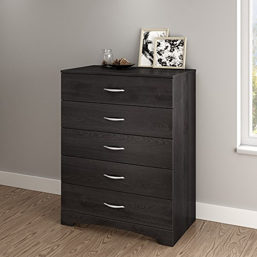 South Shore Step One 5-Drawer Dresser, Gray