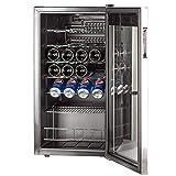 SMETA 19 Bottles Wine Refrigerator Under Counter
