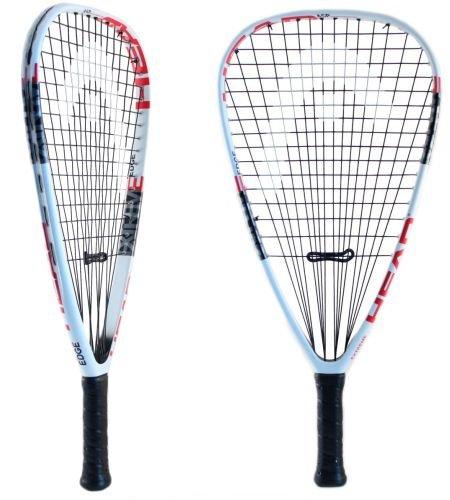 HEAD Extreme Edge Racquetball Racquet, String, 5/8 Grip by HEAD