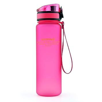 MOCLESHR Protein Shaker Portable Motion My Tritan Botella de Agua Bpa de plástico Libre para Deportes