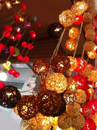 Rattan Ball Pendant Lights