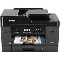 Brother Printer MFCJ6930DW Wireless Color Printer with Scanner, Copier & Fax, Amazon Dash Replenishment Enabled