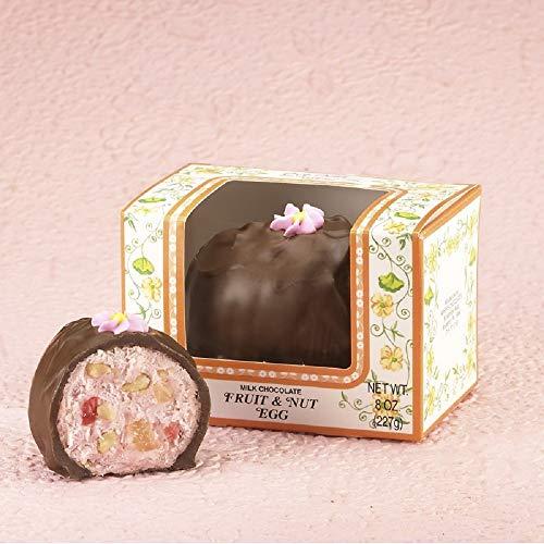 Asher's Fruit & Nut Chocolate Easter Egg (8 Oz) -