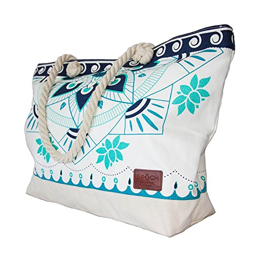 Extra Large Beach Bag with Pockets: Amazon.com