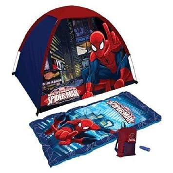Marvel Ultimate Spiderman 4-piece Kids C& Kit  sc 1 st  Amazon.com & Amazon.com: Marvel Ultimate Spiderman 4-piece Kids Camp Kit: Toys ...