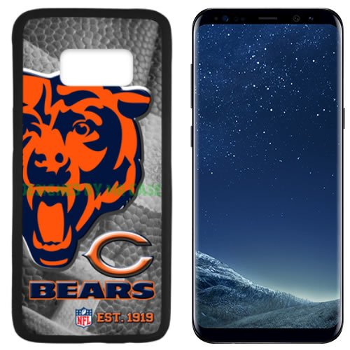 Bears Chicago Football New Black Samsung Galaxy S8 Case By Mr Case