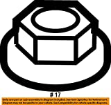 Genuine GM Nut Part# - 11561435