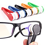 Sunglasses Glasses Eyeglasses Microfiber Brush Cleaner Tool